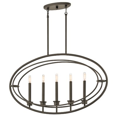 Frison 5-Light Kitchen Island Pendant