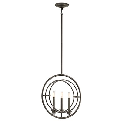 Delacruz 3-Light Mini Pendant