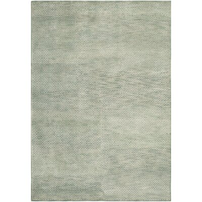 Darrow Hand-Knotted Sage Area Rug Rug Size: Rectangle 8 x 10