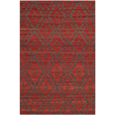 Sneyd Park Hand-Woven Area Rug Rug Size: Rectangle 4 x 6