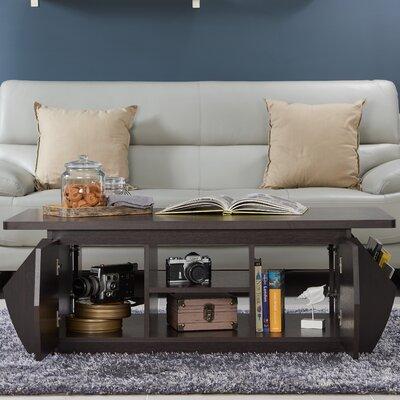 Suruga Storage Coffee Table with Magazine Rack