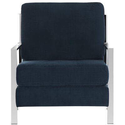 Kater Armchair Color: Navy