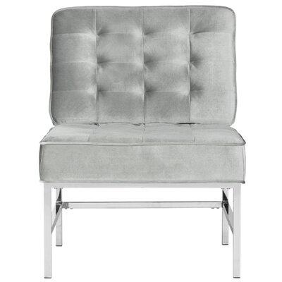 Iseminger Slipper Chair Upholstery: Light Gray