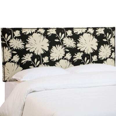 Ortis Upholstered Panel Headboard Size: King