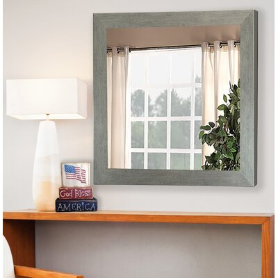 Brushed Silver Mirror Wall Mirror