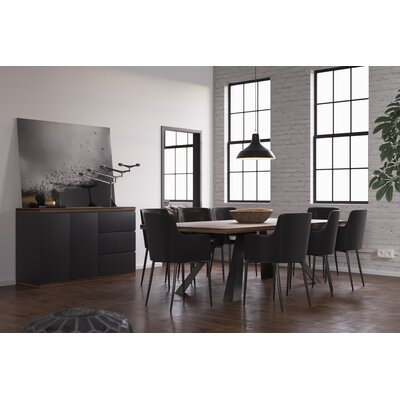 Authement 8 Piece Dining Set