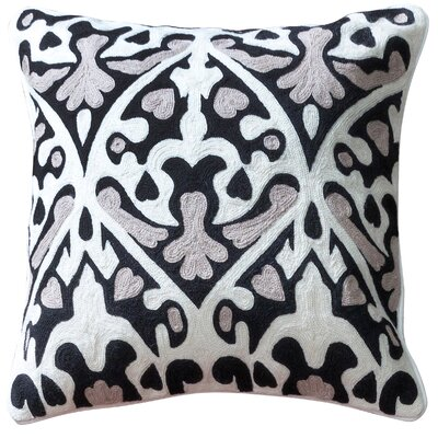 Monarrez Cotton Throw Pillow