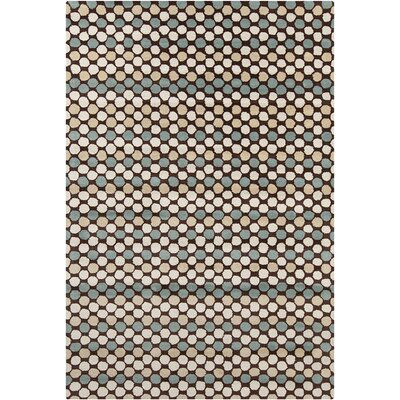 Oritz Hand Tufted Wool Area Rug Rug Size: 8 x 10