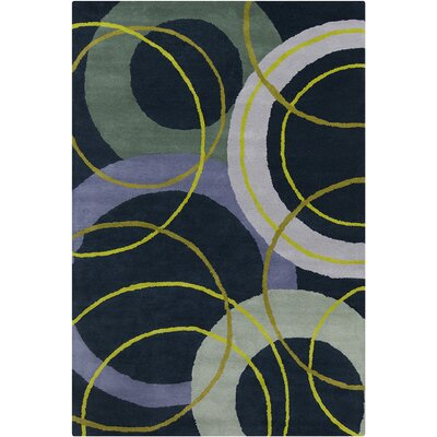 Oritz Hand Tufted Wool Area Rug Rug Size: 5 x 76