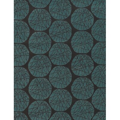 Petrin Blue Area Rug Rug Size: Rectangle 5' x 7'6