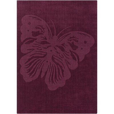 Piche Butterfly Rug Rug Size: 5 x 7