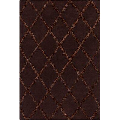 Perna Brown Geometric Rug Rug Size: 5 x 7