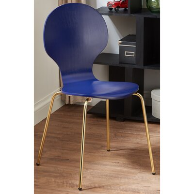 Oshaughnessy Side Chair Finish: Blue