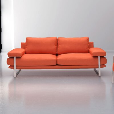 Mooring Sofa Upholstery: Orange