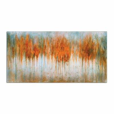 Autumn Waves Original Painting on Canvas