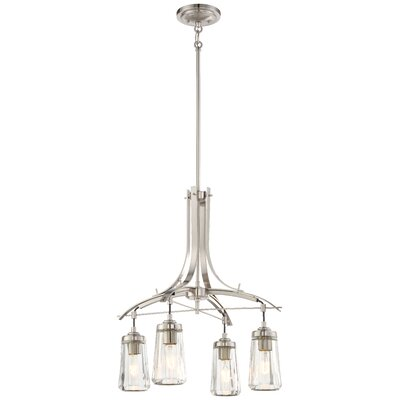 Omeara 4-Light Shaded Chandelier