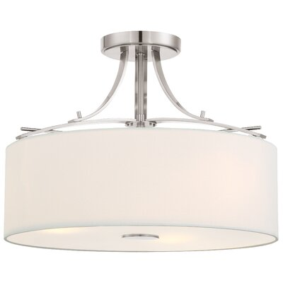 Omeara 3-Light Semi-Flush Mount
