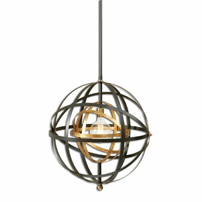 Onorato 1-Light Globe Pendant