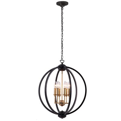 Tourville 6-Light Globe Pendant