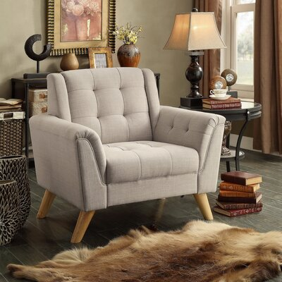 Trahan Arm Chair Upholstery: Beige