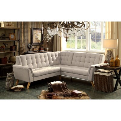 Trahan Sectional Collection Upholstery: Beige