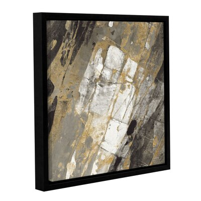 'Hot Lava Neutral' Framed Painting Print Size: 10