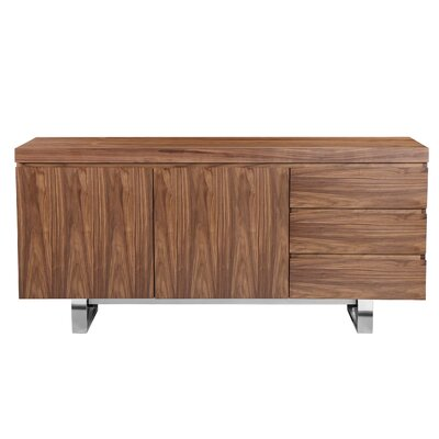 Tucci Sideboard Color: Walnut