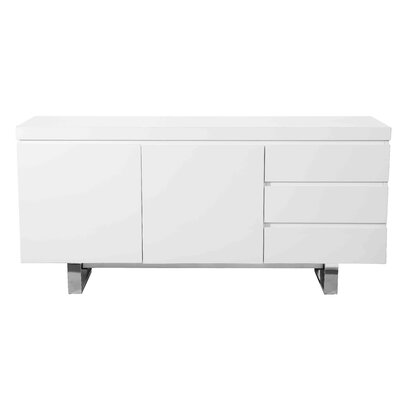 Tucci Sideboard Color: White