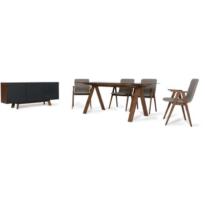 Tuel 8 Piece Dining Set
