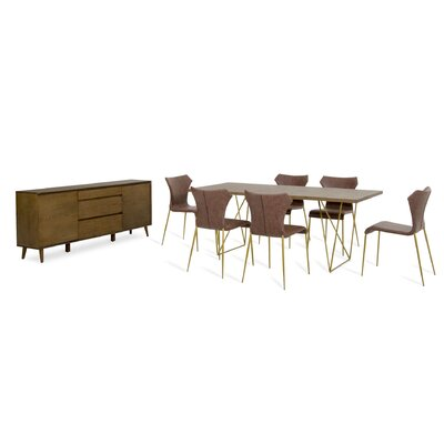 Tufts 8 Piece Dining Set