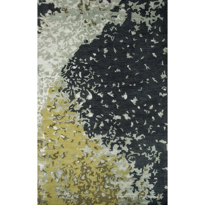 Martone Hand-Tufted Green Area Rug Rug Size: Rectangle 8 x 11