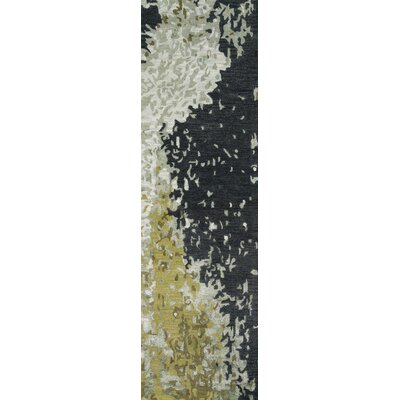 Martone Hand-Tufted Green Area Rug Rug Size: Runner 23 x 8