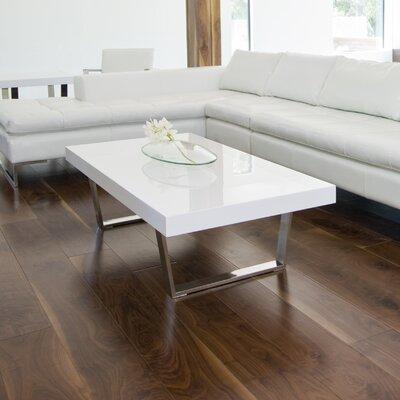 Tucci Coffee Table Color: White