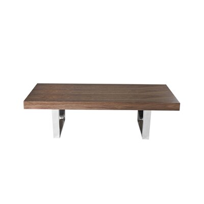 Tucci Coffee Table Color: Walnut