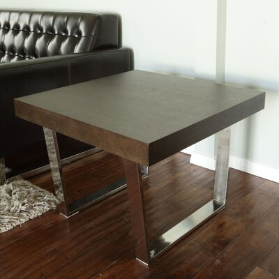 Tucci End Table Finish: Espresso