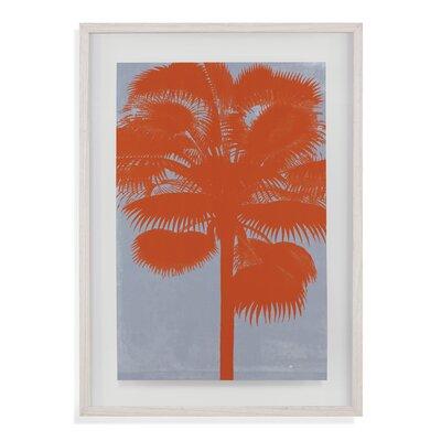 Chromatic Palms IV Framed Painting Print