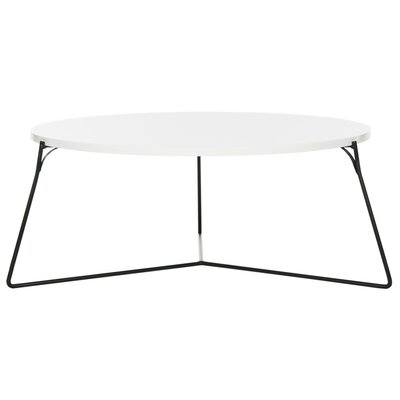 Dagostino Coffee Table Top Color: Lacquer White