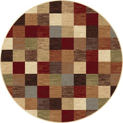 Hartle Multi Area Rug Rug Size: Round 53