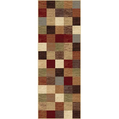 Hartle Multi Area Rug Rug Size: Runner 27 x 73