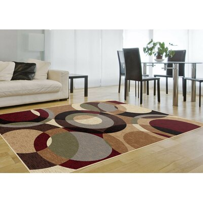 Brayden Studio Soares Brown Area Rug