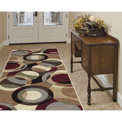 Soares Brown Area Rug Rug Size: Runner 27 x 73