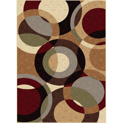 Soares Brown Area Rug Rug Size: 710 x 103
