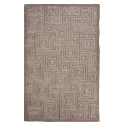 Frary Hand-Tufted Gray Area Rug Rug Size: 8 x 10