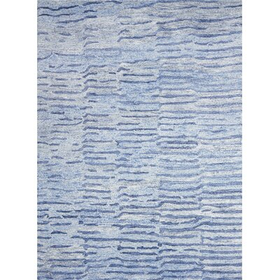 Nyssa Hand-Tufted Lapis Area Rug Rug Size: Rectangle 39 x 59