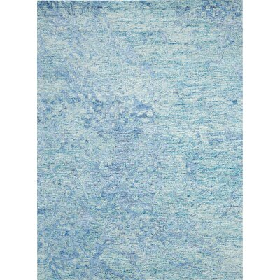 Nyssa Hand-Tufted Blue Area Rug Rug Size: Rectangle 99 x 139