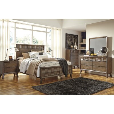 Despina Panel 5 Piece Customizable Bedroom Set