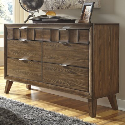 Brayden Studio Despina 6 Drawer Dresser