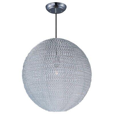 Roehl 1-Light Globe Pendant Finish: Polished Chrome