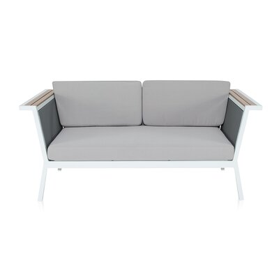 Melton Loveseat with Cushions