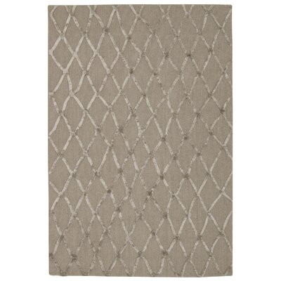 Dantonio Hand-Tufted Brown Area Rug Rug Size: 4 x 6